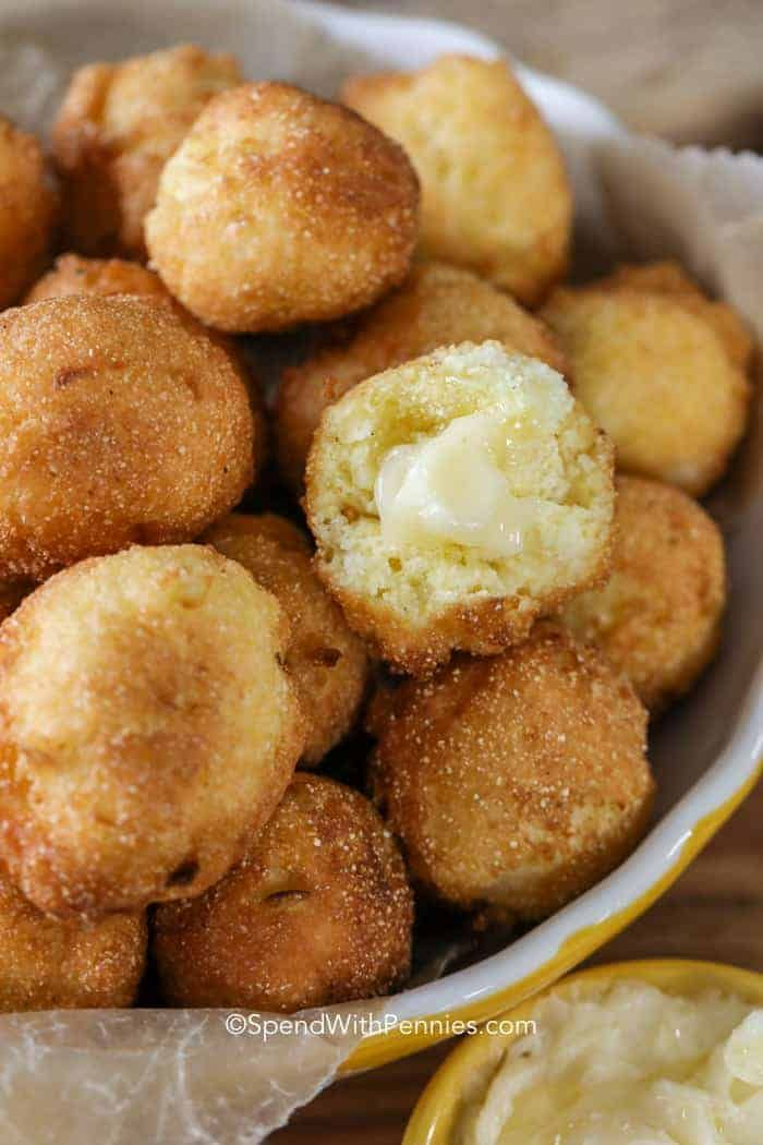 We Love Making This Hush Puppy Recipe To Go Alongside Some Fried
