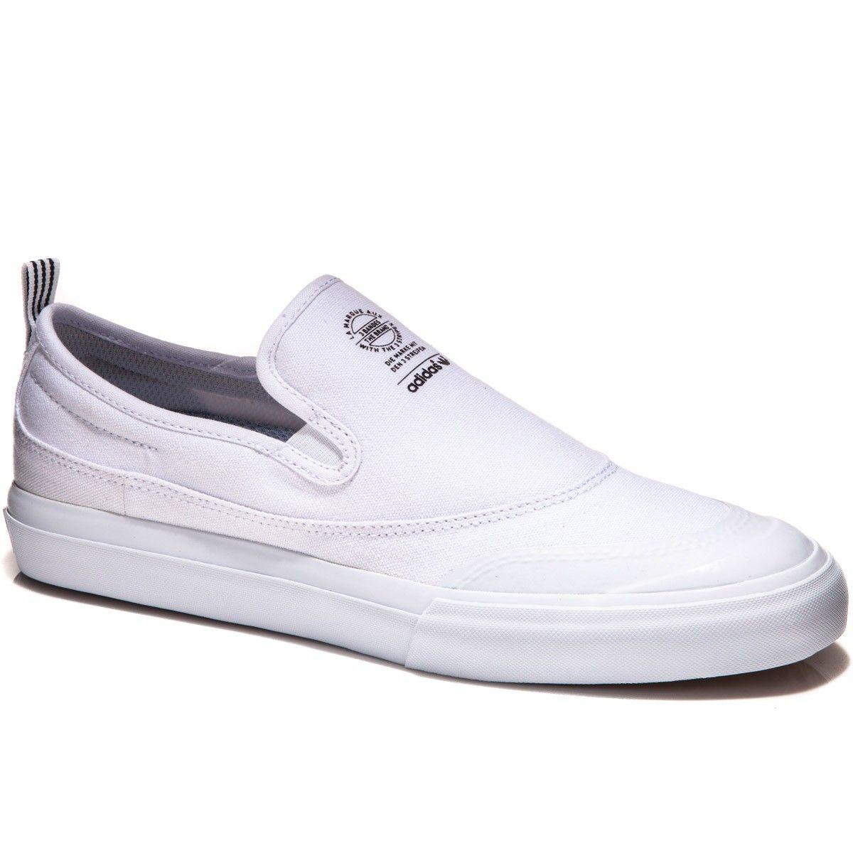 ADIDAS Matchcourt Slip (NEW) (white) sz: 8