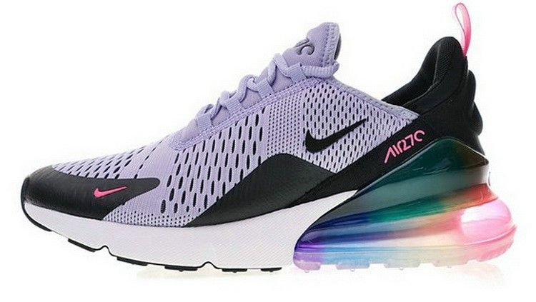 Nike Air Max 270 Beture Colorful Chaussures Gris Blanc