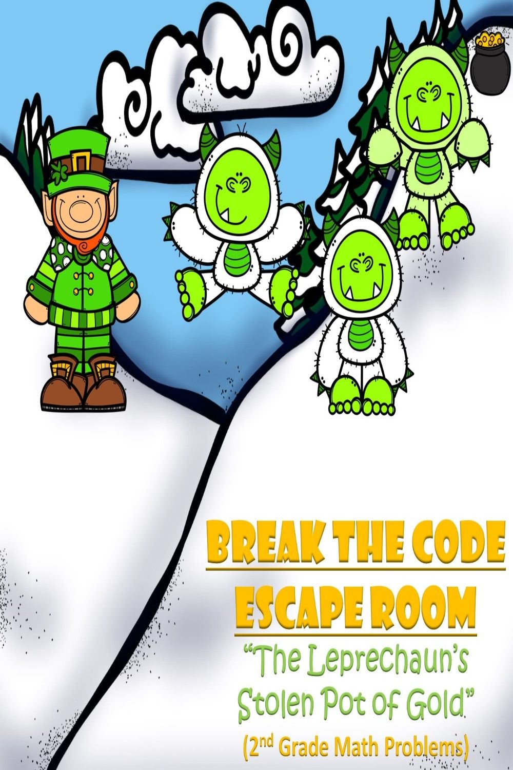 Escape Room (Leprechauns Stolen Gold)-2nd Grade Math ...