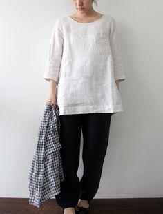 Linen Tunic Tops