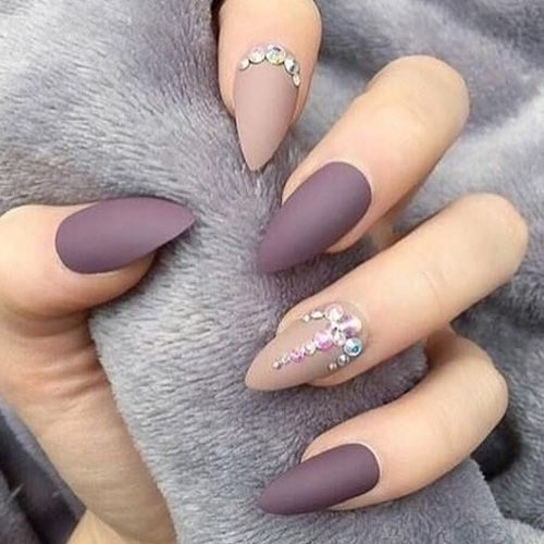 Matte Nails 67 Best Matte Nails With Images Prom Nails