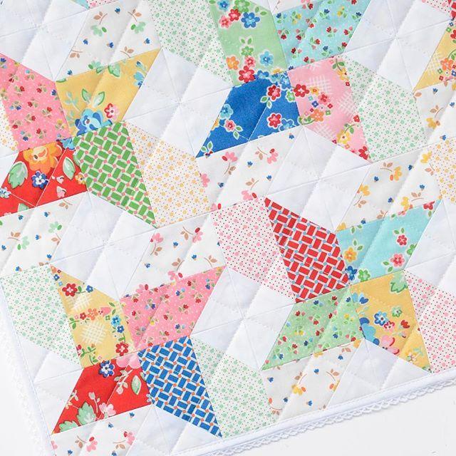 Beautiful quilt made with Arbor Blossom fabric designed by Nadra ... : beautiful quilt fabrics - Adamdwight.com