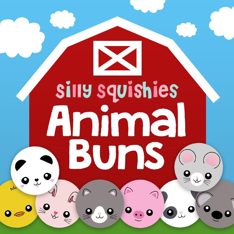 Squishy Animal Buns : sillysquishies.com - Blind Bags - Animal Bun Squishies,   USD2.99 (http://www.sillysquishies.com ...
