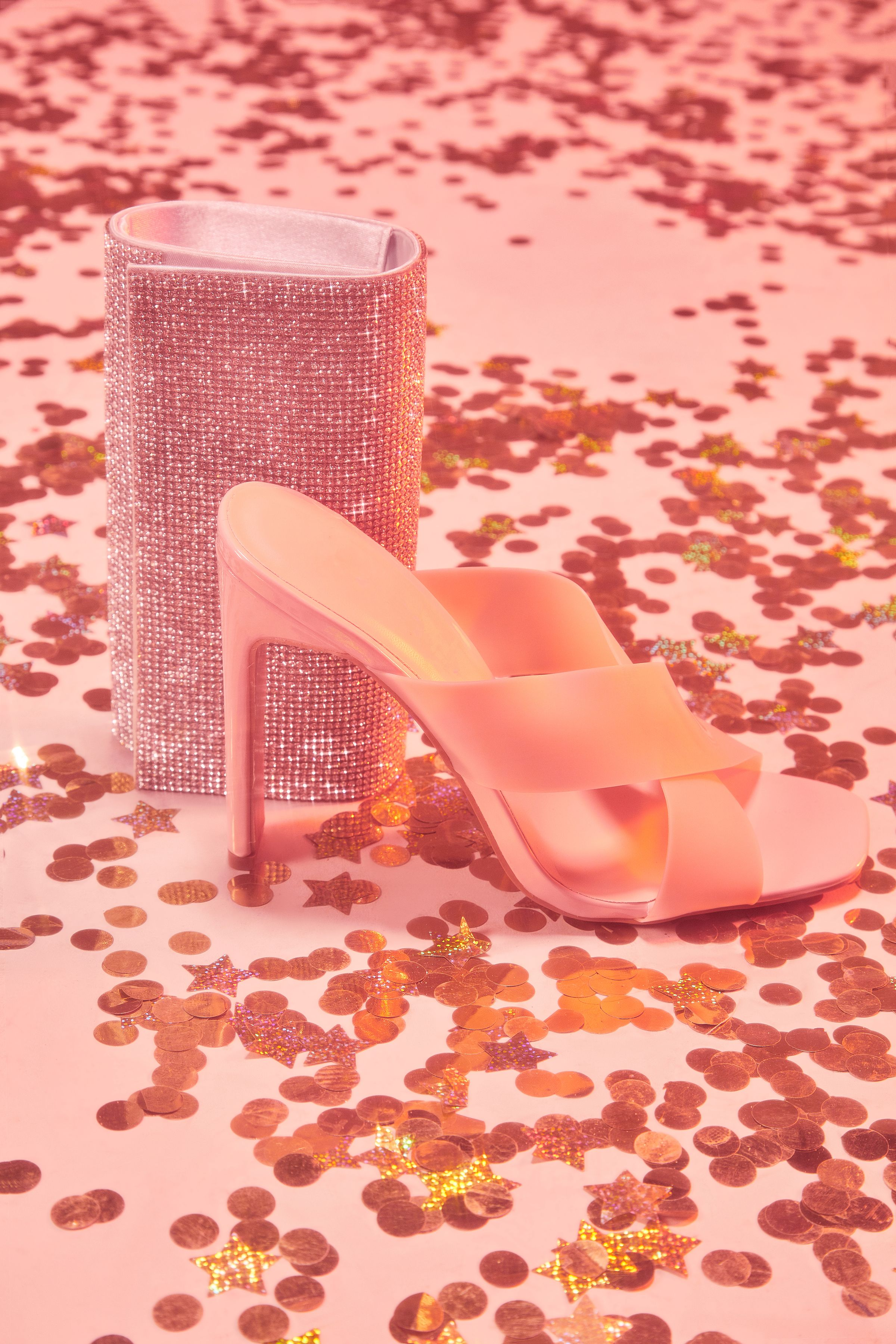 It's You Not Me Heeled Sandal – Nude