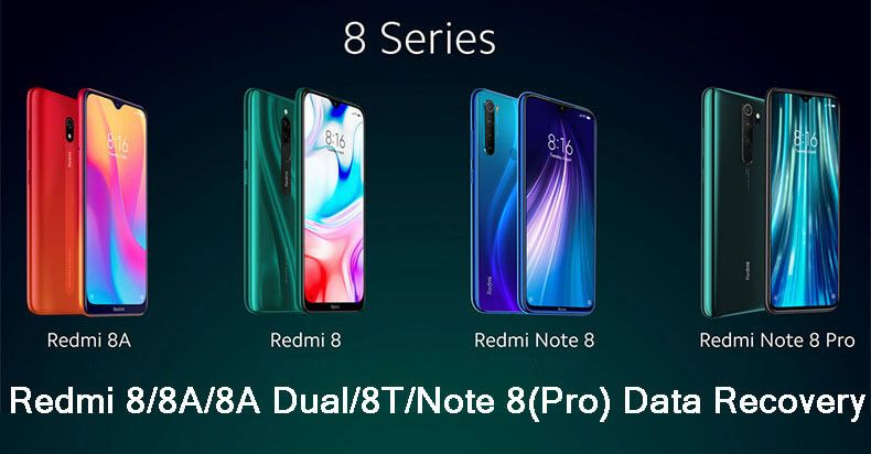 How to recover deleted data from redmi88a8tnote 8