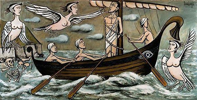 Mythologie L Odyssee D Ulysse Comme Vous Ne L Avez Jamais Lue Mythologie Grecque Homere Ulysse Et Les Sirenes