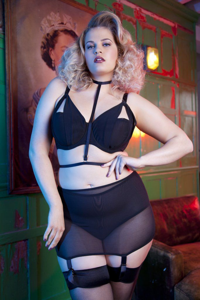 55dc797cd41 girdle plus size suspender belt shaping shaper black garter retro vintage
