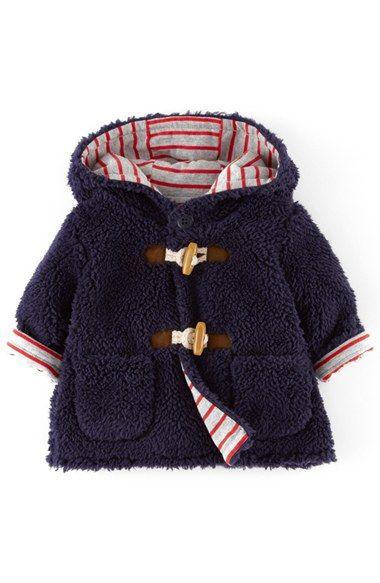 Mini Boden Fleece Jacket (Baby Boys) available at #Nordstrom