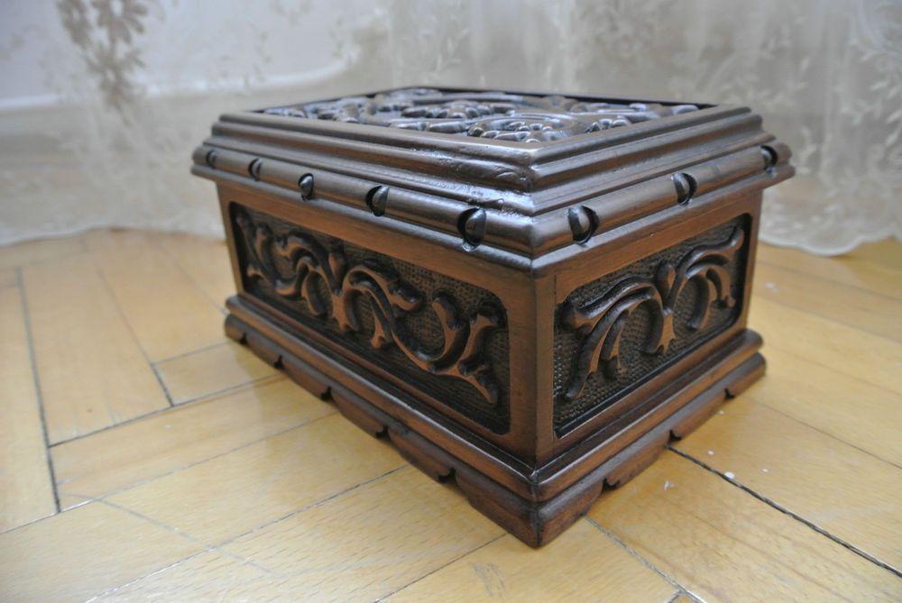 Details About Turkish Puzzle Magic Trick Secret Jewelry Box Case