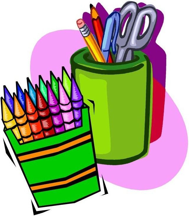 Art Supplies Clipart Panda Free Images School Rh Com Craft