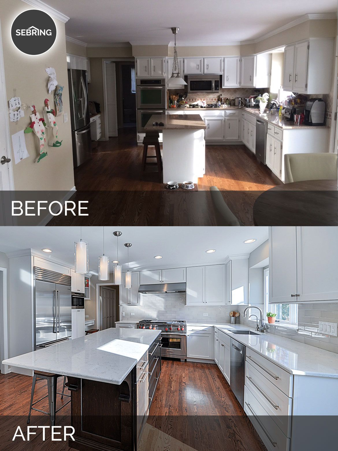 Before and After Kitchen Remodeling - Sebring Services | Kitchen ...