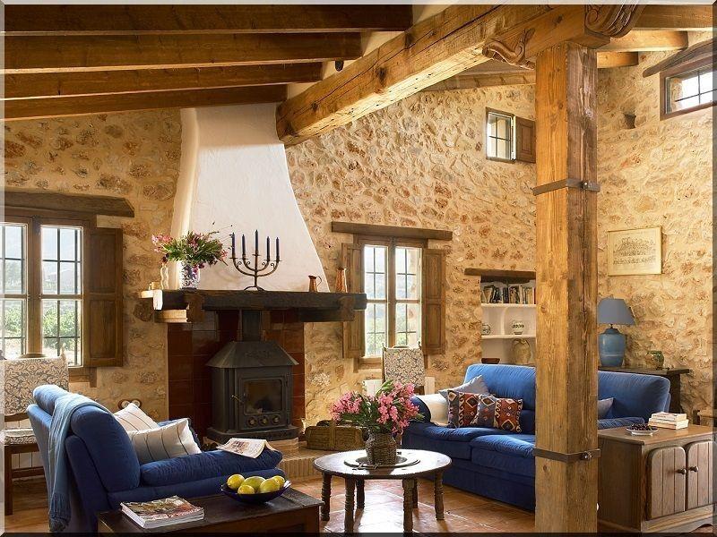 Mediterranean Style Interior Design Industrial Loft Furniture