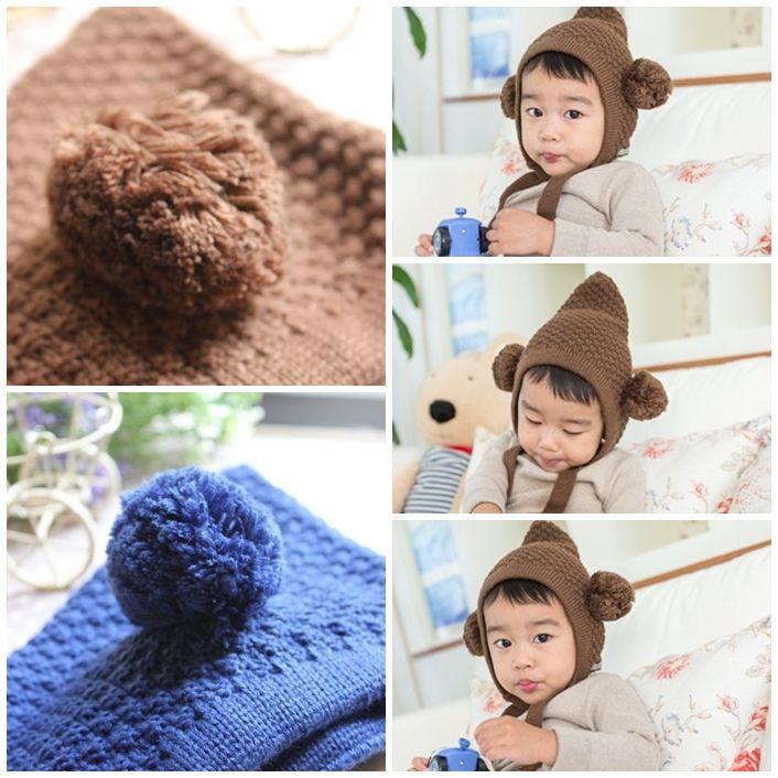 【寶寶下午茶】韓國童裝/配件 ♥雙球毛線帽♥熱賣款推薦! | :::Mamibuy 華人第一嬰兒用品推薦網站:::