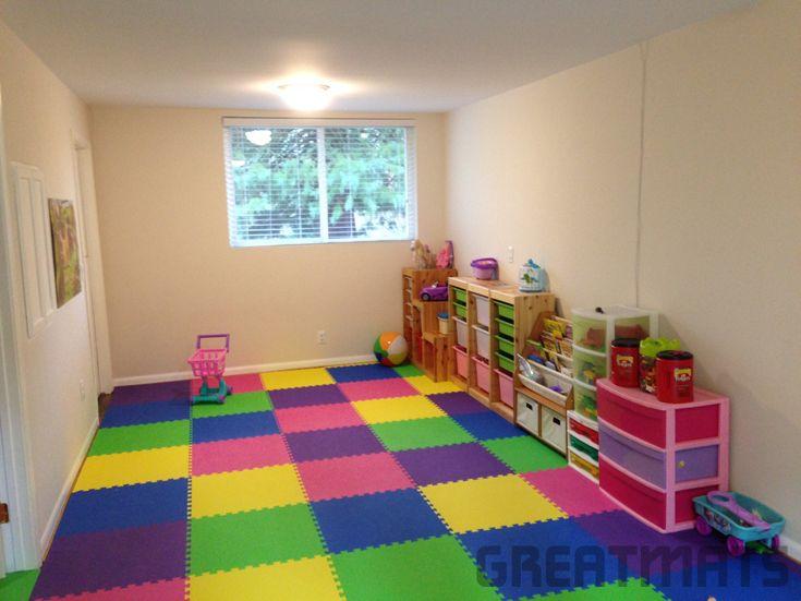 Foam Mats 5 8 Premium In 2019 Playroom Flooring Daycare
