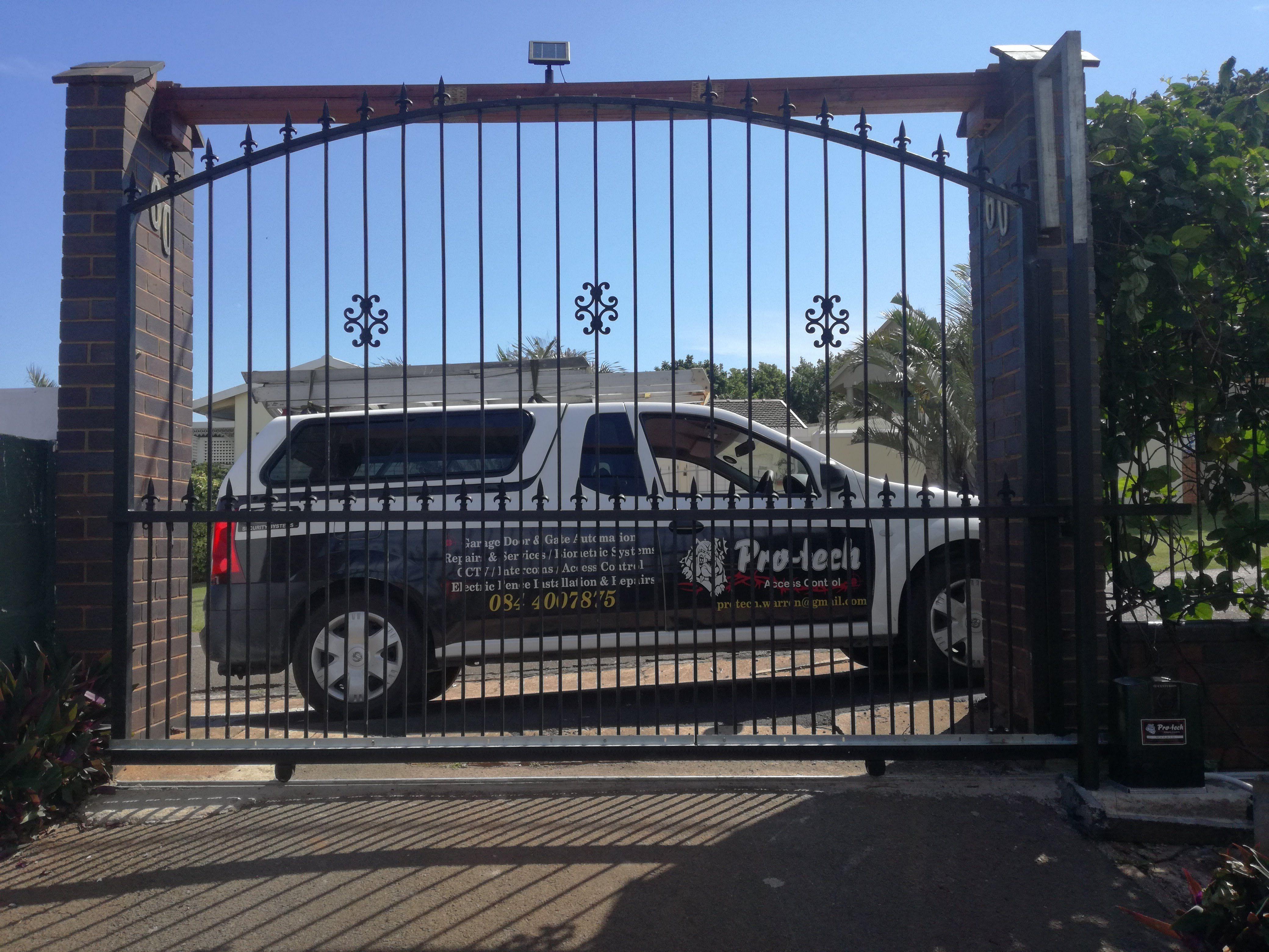 Converted Gate Sliding Gate Gate Access Control
