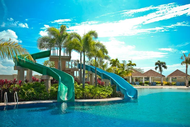dream house with pool and slide google search - House Pools With Slides