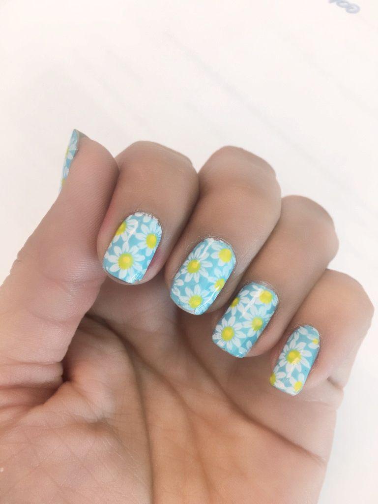 Spring Daisy nails | My Cute Nail Designs | Pinterest | Daisy nails
