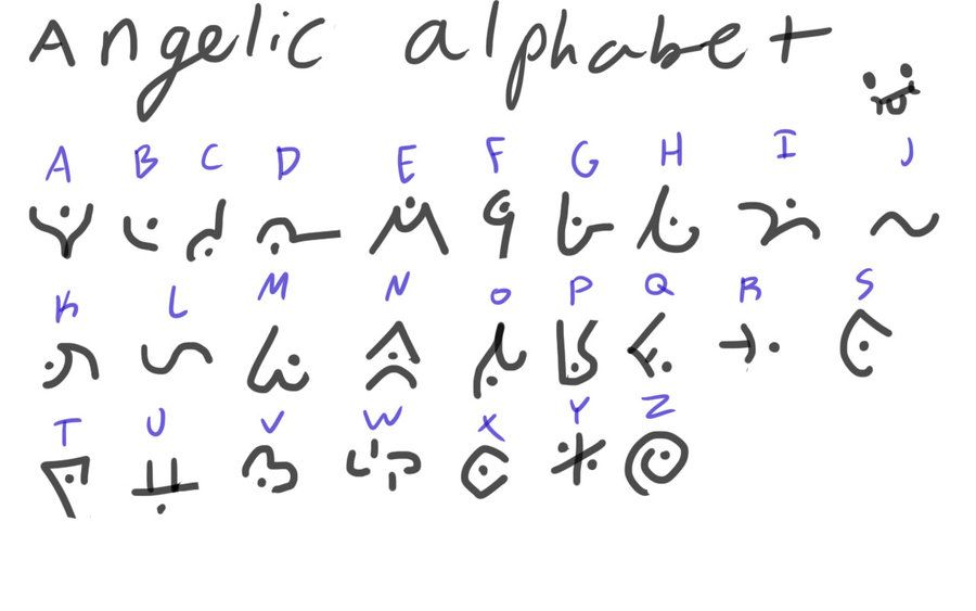 DeviantArt: More Collections Like Angelic Alphabet