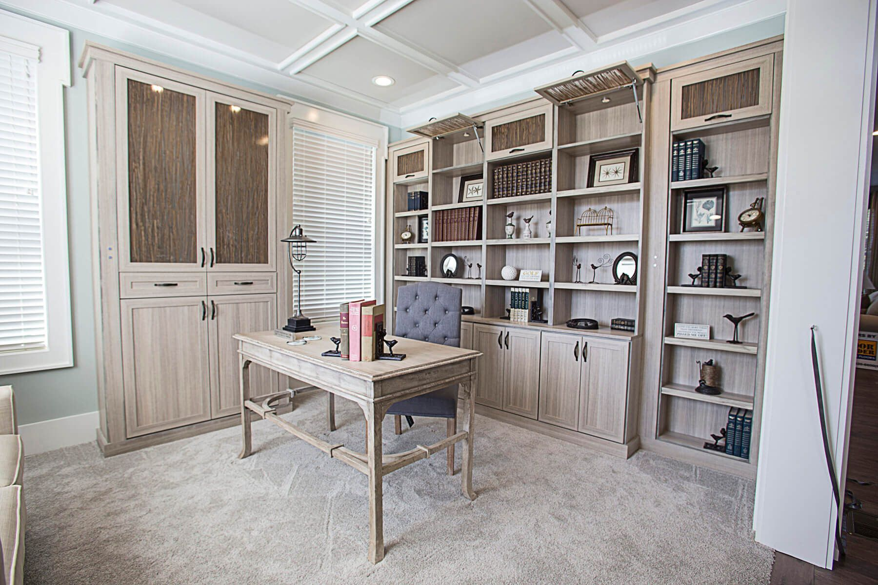 26 Home Office Designs (Desks U0026 Shelving) By Closet Factory