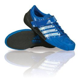 960537bc31c1 Adidas Blue Throwing Shoes