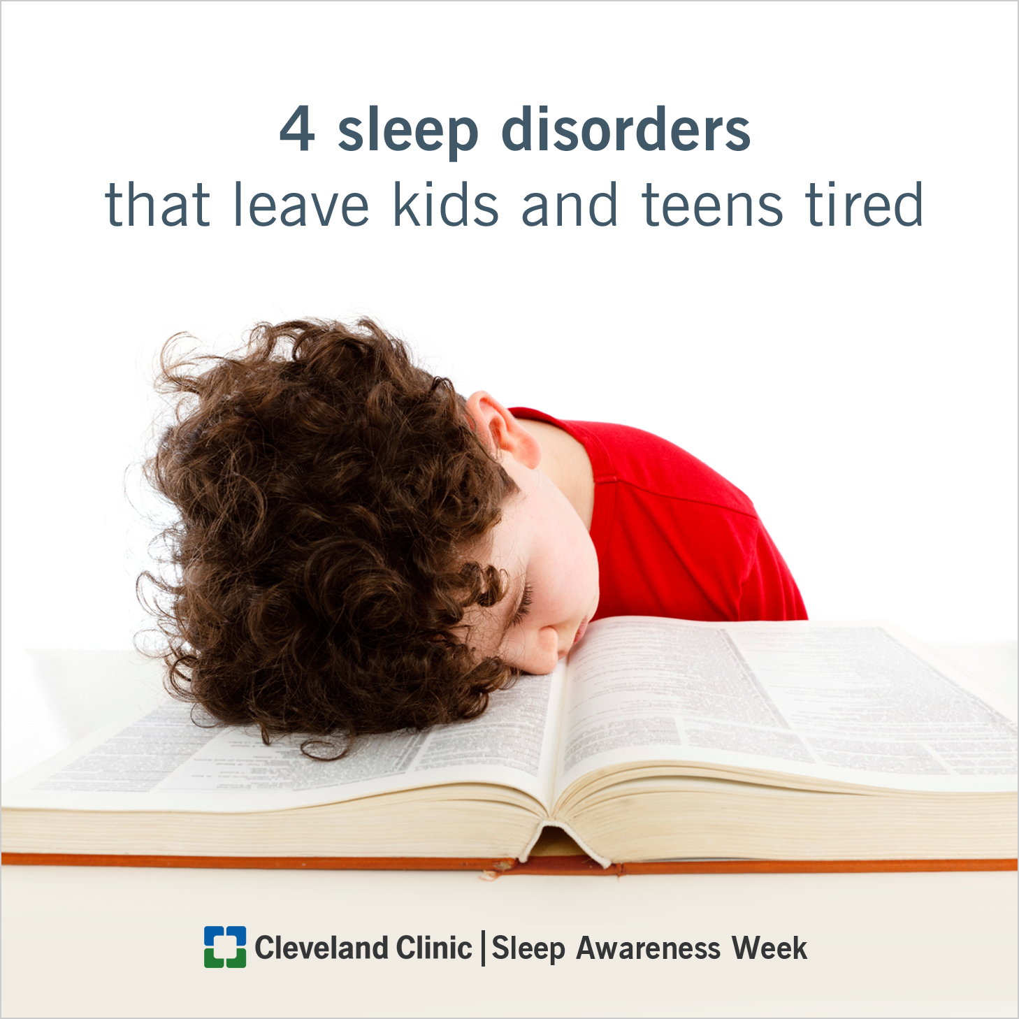 Necessary words... on teen sleep issues when