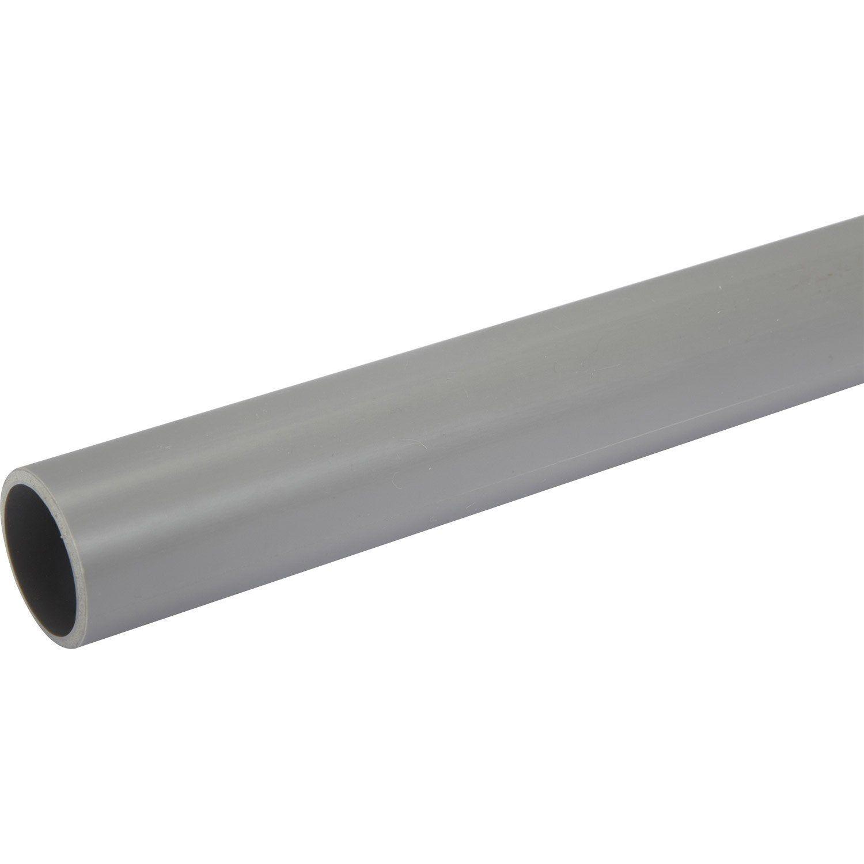 Tube D Evacuation Pvc Diam 40 Mm L 2 M Diamant Et Produits