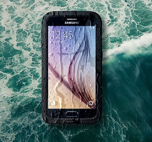 Water Damaged Galaxy S6 Display Problem When Powered On Other Power Issues The Droid Guy Galaxy S6 Display Water