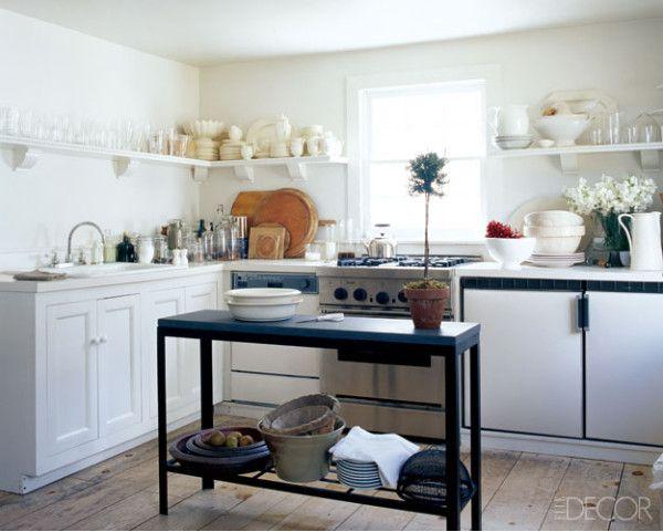 offene Regale, Küche in L-Form Küche Pinterest - regale für küche