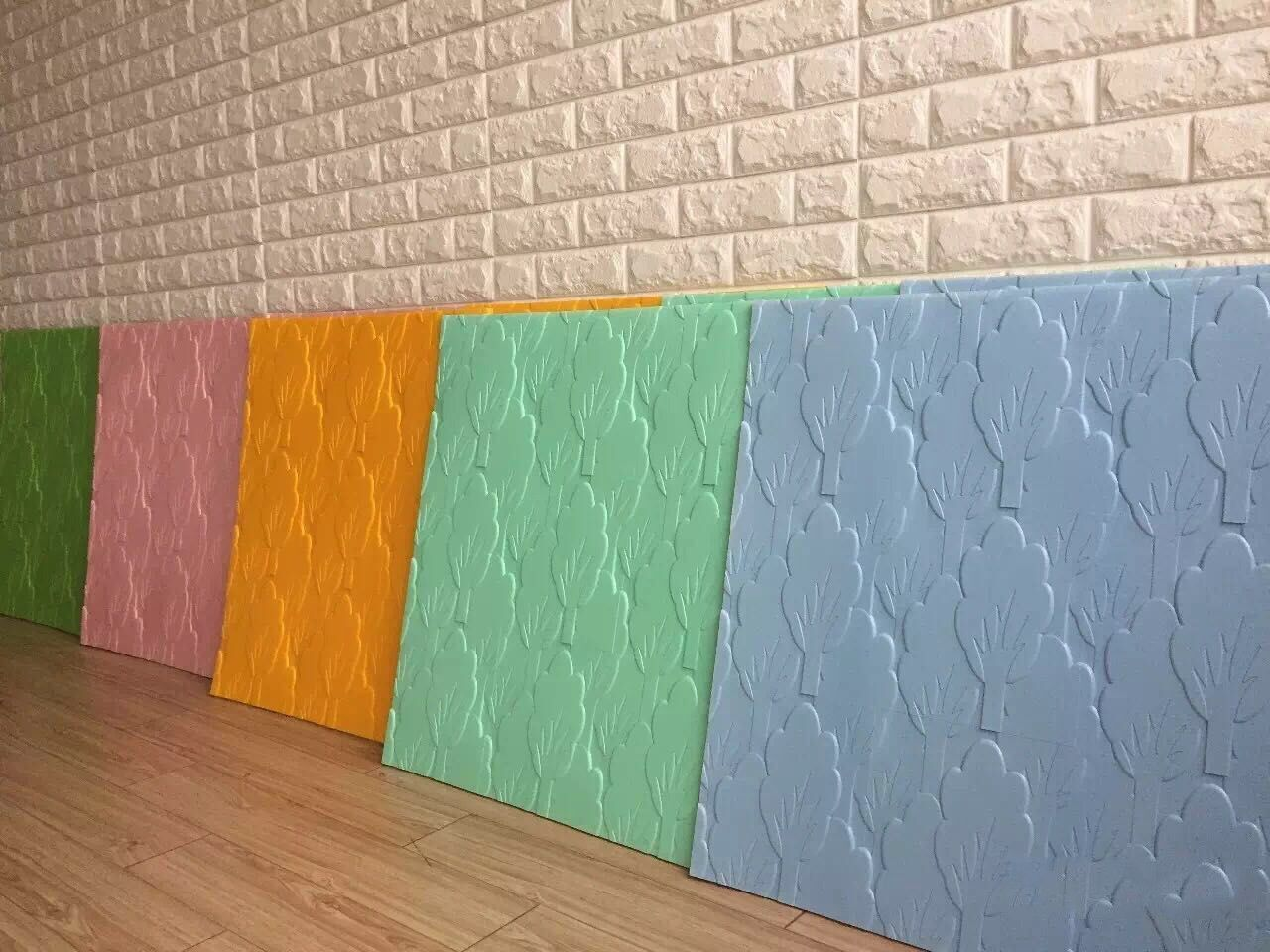 Interior Exterior For Home Decoration3d Wall Paper Embossed Decorative Wall Skin 3d Lightweight Pe Foam Wallpape Wall Wallpaper Kids Room Wallpaper Wallpaper