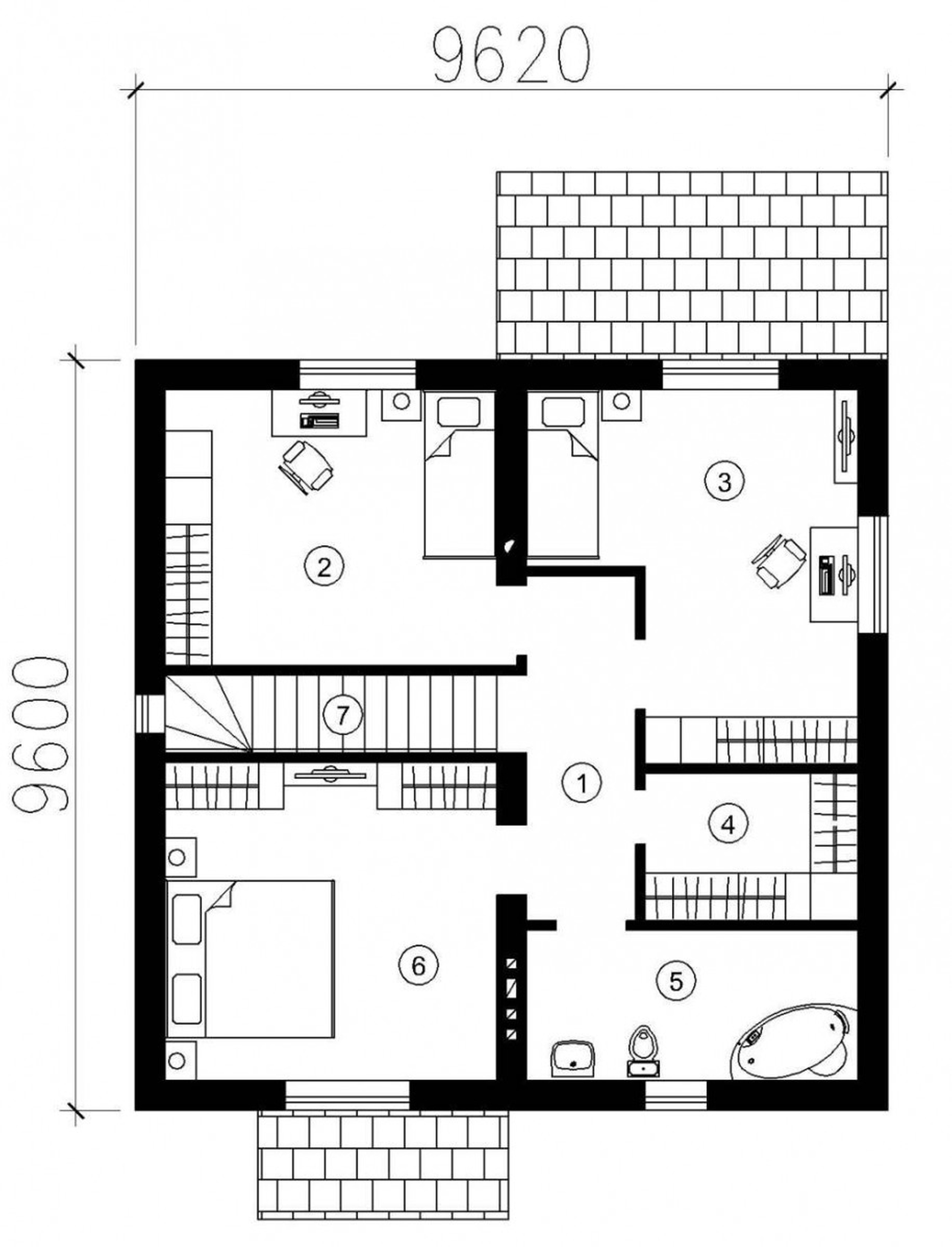 beautiful small modern house designs and floor plans cottage style ...