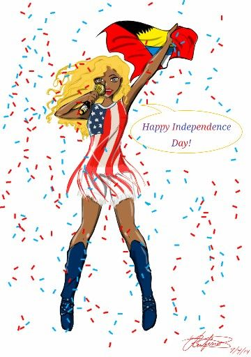 1st.ladycandy Happy Independence Day