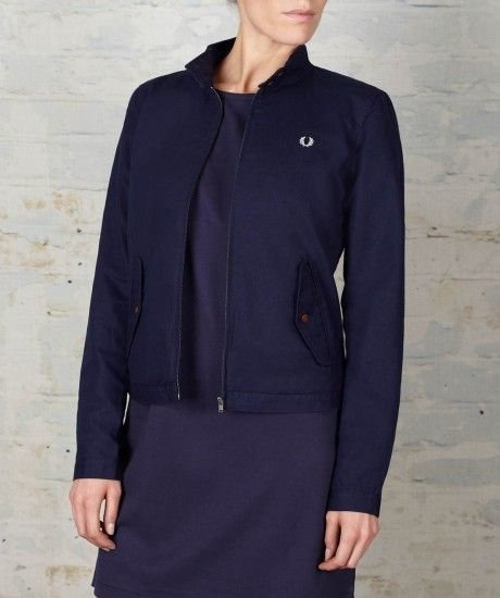 Fred perry mantel damen