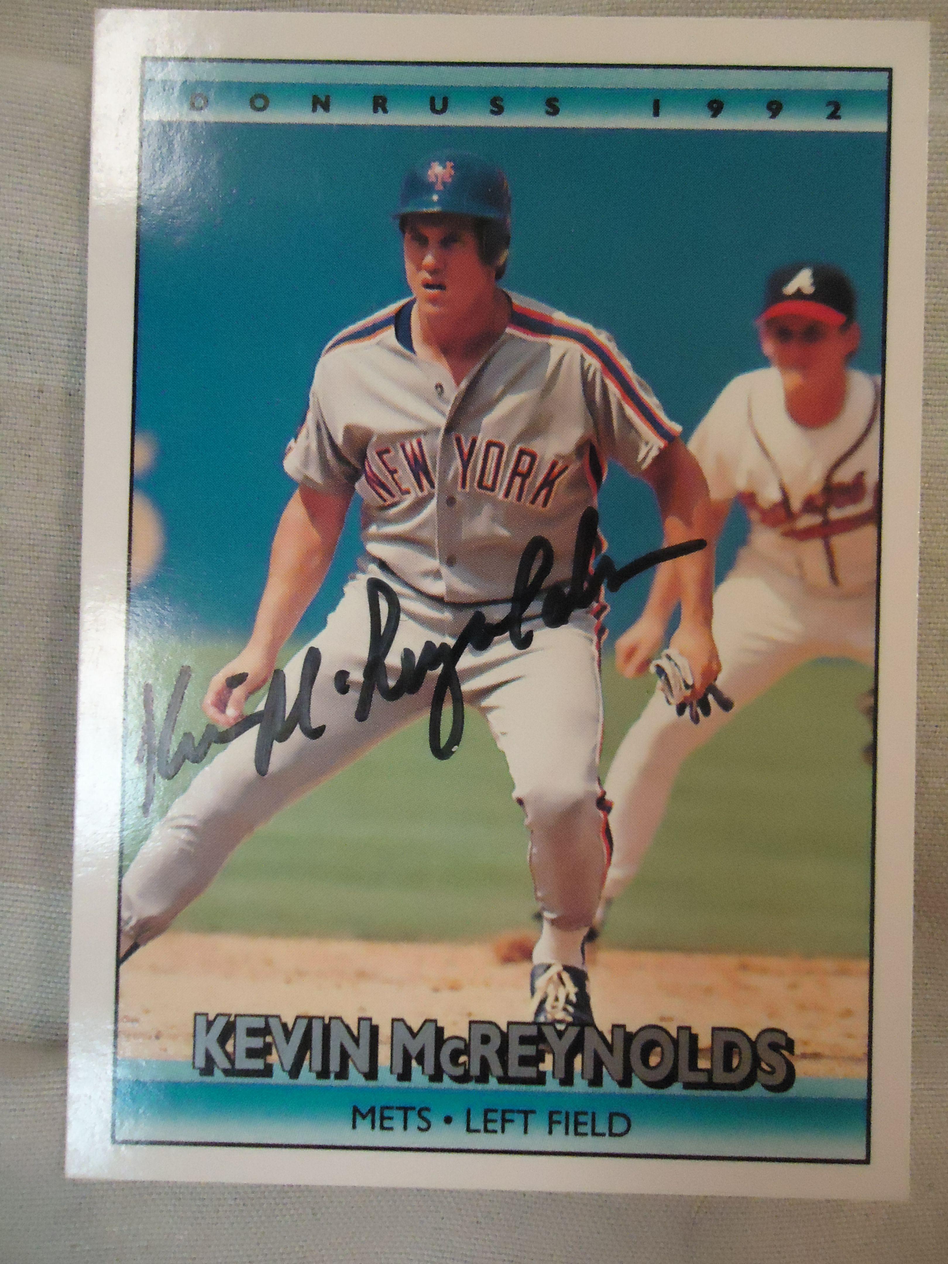 1992 donruss 288 ttm baseball cards mets sports