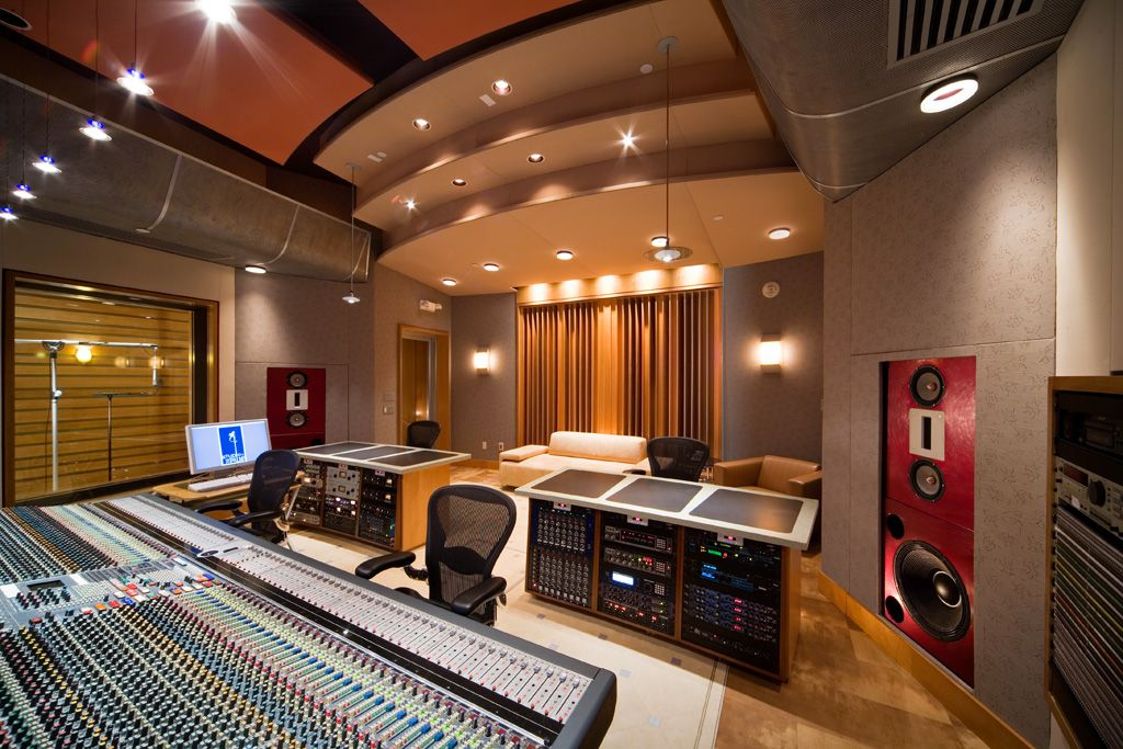 music recording studio design palms dj systems