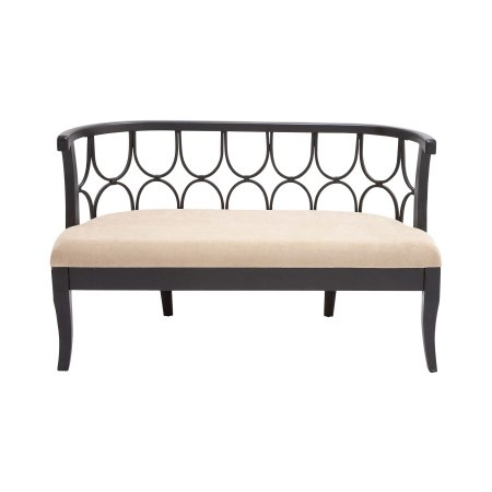 Decmode 34 X 54 Inch Contemporary Iron And Wood Double Helix Design