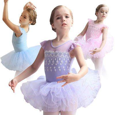 0b6e5cb26 Dresses and Tutus 152352  Toddler Girls Kids Gymnastics Ballet Dress ...