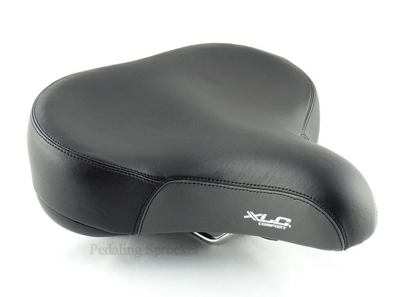 XLC Bicyle Saddle Comfort Black