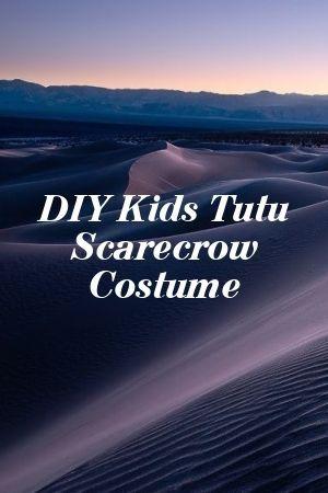 DIY Kids Tutu Scarecrow Costume #scarecrowcostumediy DIY Kids Tutu Scarecrow Costume#blossom #makeit #scarecrowcostumediy