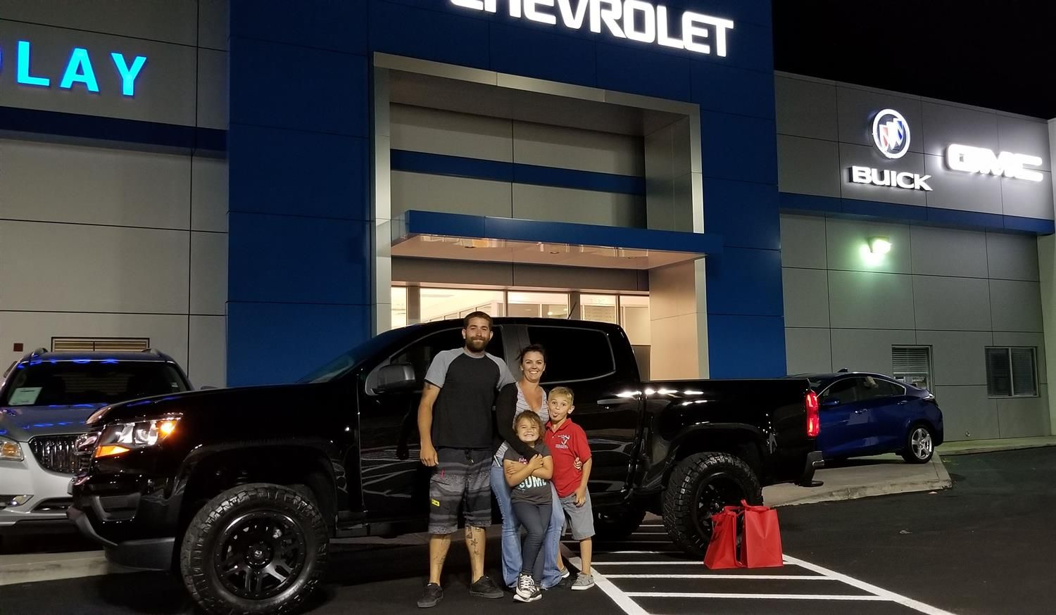Jacqueline And Jerry Wishing You Many Miles Of Smiles In Your 2018 Chevrolet Colorado All The Best Findlay Chevy Buick Chevrolet Colorado Buick Gmc Chevy