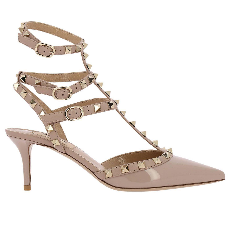 heel shoes, Leather pumps, Valentino heels