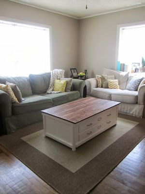 Coffee Table Redo Home Decor - What Color Should A Sofa Table Be