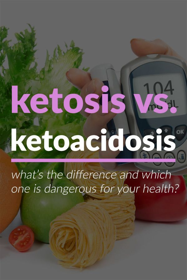 Ketosis Is Commonly Confused With Ketoacidosis One Is A Healthy Metabolic State While The Other Is Dangerous And Potentiall Ketosis Keto Quote Diet Plan Menu