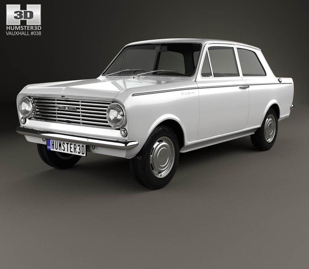 3d Model Of Vauxhall Viva 1963 Ford Anglia Vauxhall Motors Model