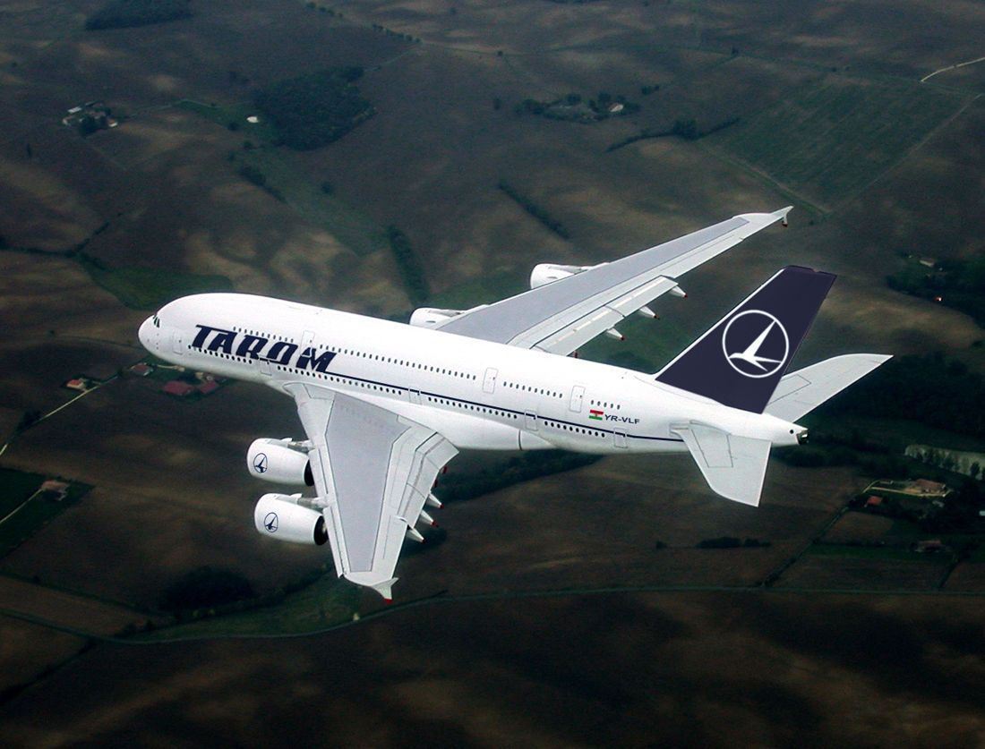 Tarom Airbus A380-800 | airlines | Airbus a380, Aviation