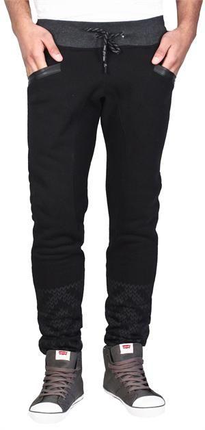 2fed8b3e9d283 Slim Fit Joggers from Retro Distrikt Black   Men's Fashion   Slim ...