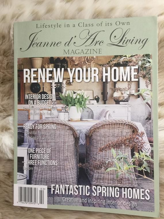 2019 Jeanne d' Arc 2nd Edition Magazine Coastal living