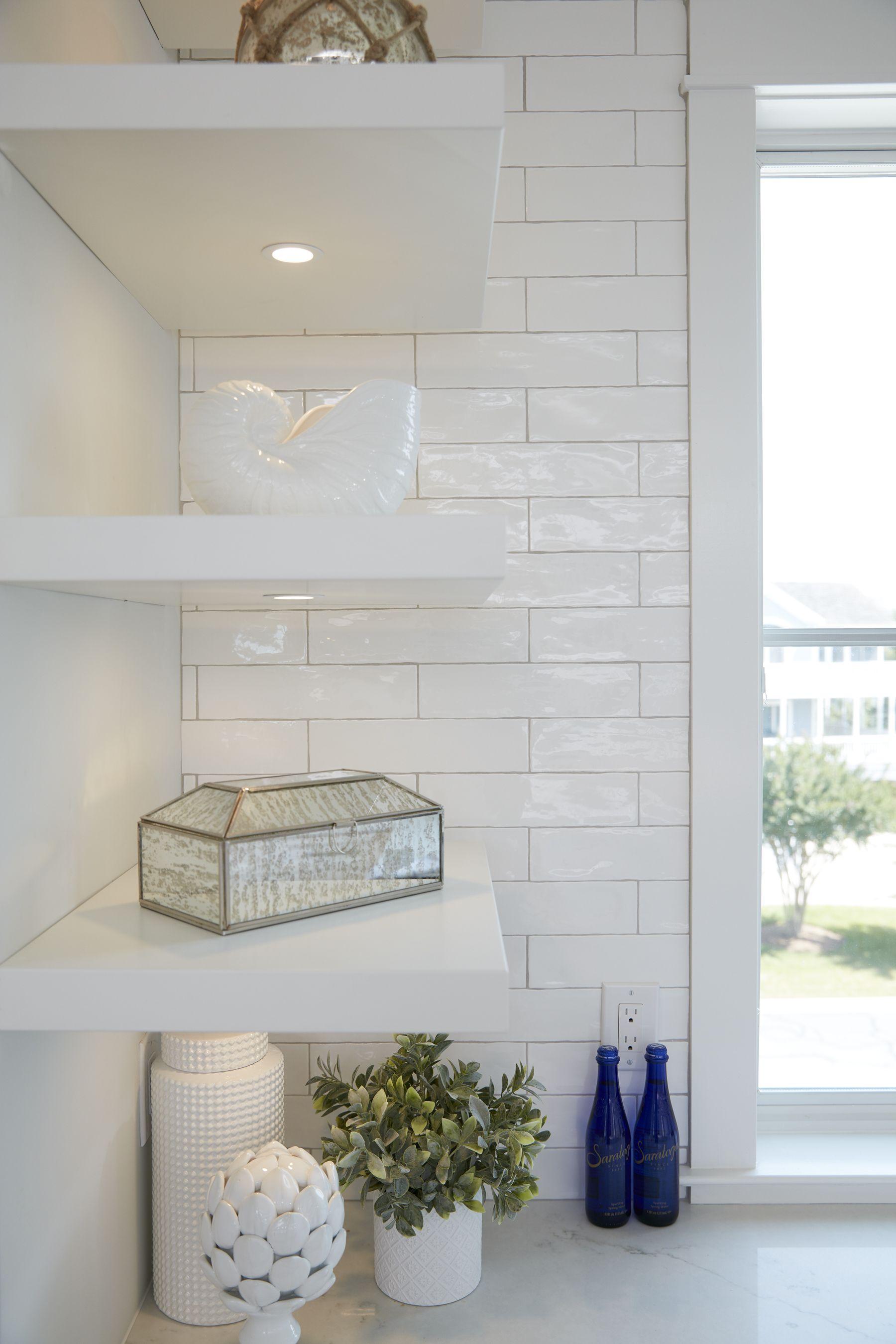 Forever Grace Marnie Custom Homes White Subway Tile Kitchen