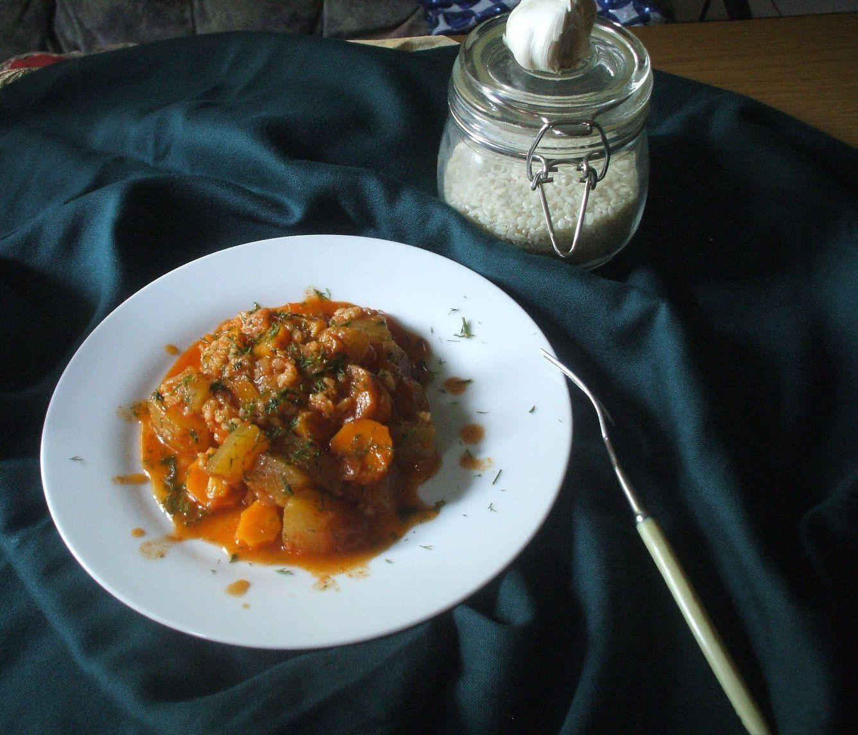 Zeytinyağlı Havuçlu Kabak Yemeği