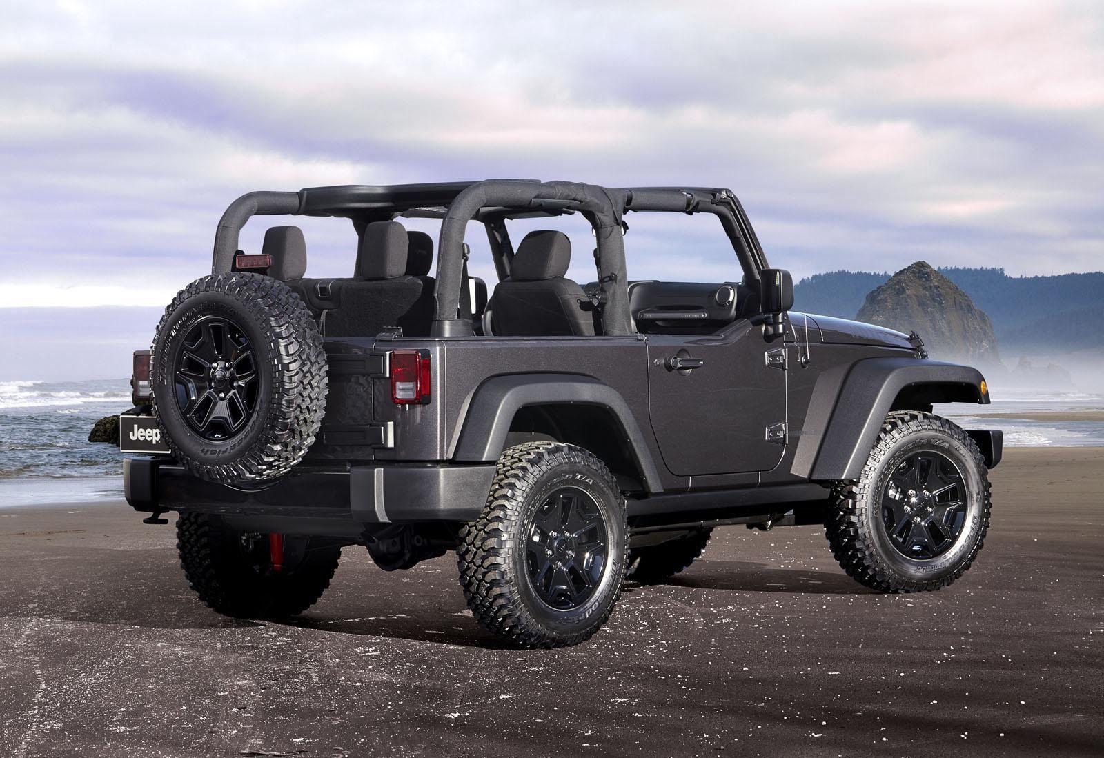 Jeep Wrangler Willys Wheeler Edition 2014 Jeep Wrangler 2015